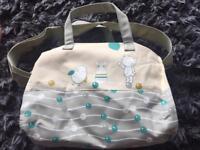 New baby change bag