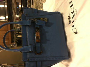 Coach Handbag, electric blue, perfect gift for summer