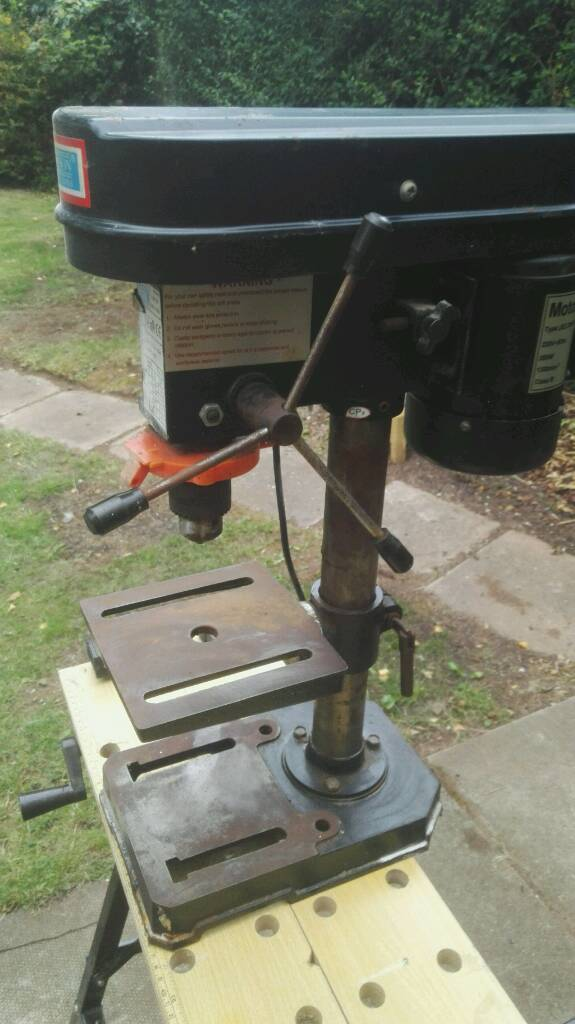 Rolson Pillar Drill 350 watts powerful 5 Speed