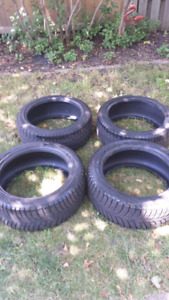 Winter tires 245/45R18 & 225/45R18