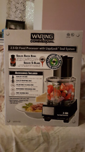 BRAND NEW WARING FOOD PROCESSOR'S 3 MODELS 2 CHOOSE FROM