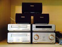 Technics SE-HDV600 Micro Hi-Fi system with DVD/CD player