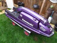 kawasaki js550 jetski superjet stand up ski