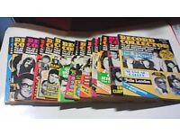 16 VINTAGE RECORD COLLECTOR MAGAZINES 1981-1983 'SMALL SIZE ISSUES'