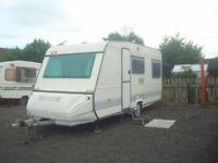1996 Adria 5 berth caravan