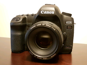 Canon EOS 5D Mark II with 50mm f/1.4
