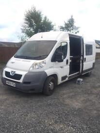 Peugeot Boxer Camper Van