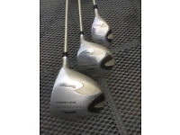 Ladies Right hand Slazenger Panther high launch golf clubs - 3 Drivers