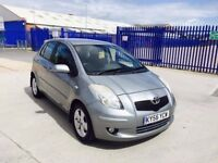 TOYOTA YARIS 1.3 AUTOMATIC 5DR SERVICE HISTORY NEW MOT