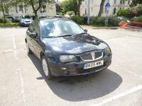 Rover 25 SI 84 1.4 5 door in black. 12 months MOT trade warranty