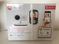 Motorola Mbp662 video baby monitor with Wifi Internet Viewing