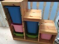 Children's storage unit - TROFAST - IKEA