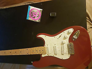 Almost Brand New Sawtooth Electric Guitar