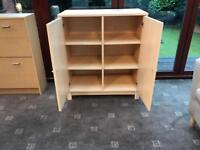 Wooden Large Storage Unit / Cabinet Good Condition Adjustable
