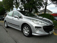 PEUGEOT 308 1.6 HDI 2010 ONLY 27000 MILES COMPLETE WITH M.O.T HPI CLEAR