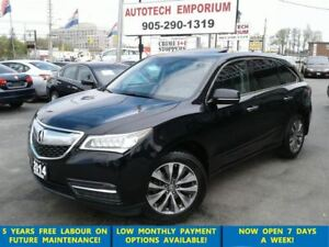 2014 Acura MDX Tech Pkg 7 Pass. Navigation/Lther/Sunroof