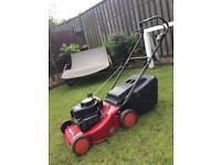 Mountfield HP454 push petrol lawnmower. Like new.