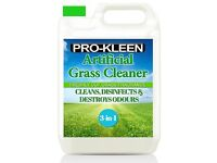 3 X 5 LITRES OF PRO-KLEEN ARTIFICIAL GRASS CLEANER