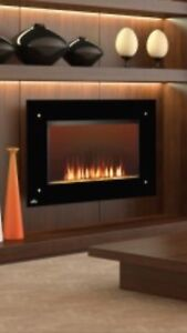 Napoleon wall electric fireplace