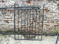 Wrought Iron Gate Garden Gate.