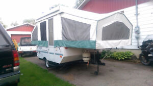 2001 Rockwood Tent Trailer Tente Roulotte