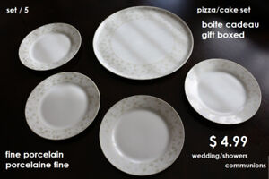 PIZZA PLATES 2.75 AND SMALL PLATES 1.50