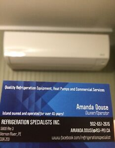 Heat pump and all your Commercial Refrigeration needs!
