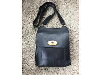 Anthony style bag black leather