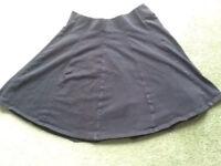 Black Skater Skirt Size 8