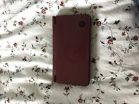 NINTENDO DSi XL RED WITH CASE AND ACCESSORIES