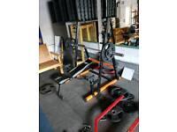 Squat rack / bench press