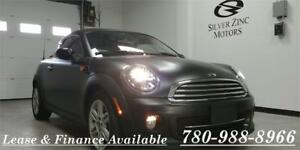 2012 Mini Cooper Coupe,Only 11564 kms,6 spped,RARE!