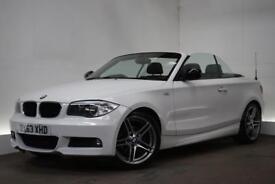 BMW 1 SERIES 2.0 118D SPORT PLUS EDITION 2d 141 BHP (white) 2013