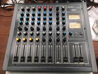6 channel mixer by desctech (laney)