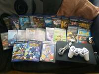 Massive Playstation 2 Console & game bundle
