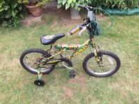 Kids Bicycle | Camouflage Look