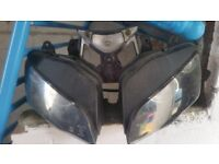 Skyjet 125-27 headlight