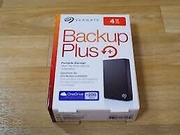4TB Seagate External HD