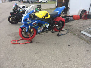 Suzuki GSXR-600 Track and Street bike