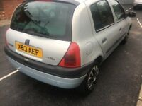 Renault Clio 2001 cheap full mot £295ono
