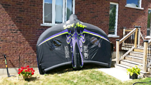 Manta Ray. Flyable inflatable