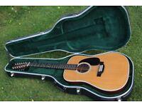 Martin D12 28 12 string Acoustic Guitar
