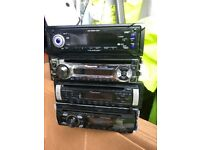 All different head units CD radio for car