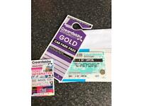 Creamfields 4 Day Gold Camping and car parking pass