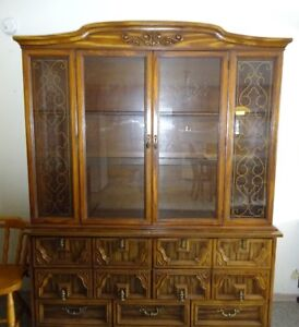 2 Hutch cabinets