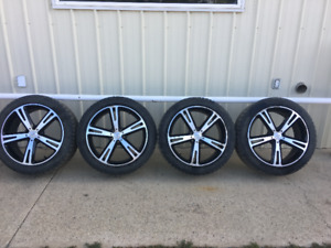 """20"""" wheels and tires"""