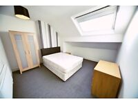 DOUBLE bedroom available with ALL BILLS INCLUDED - AVAILABLE NOW £295PCM!