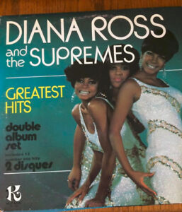 Vinyle de Dianna Ross and the Supremes