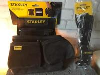 Stanley Fatmax Leather Tool Pouch and Belt