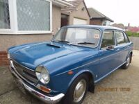 MORRIS 1800 CLASSIC CAR 'LAND CRAB' LOW MILEAGE, RARE CAR